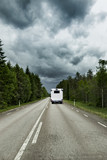 Straße in Skandianvien