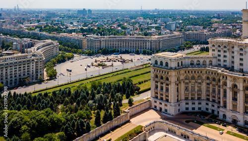 Die Innenstadt  von Bukarest - Präsidentenpalast - 211902998