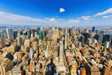 View of Manhattan from the skyscraper's observation deck. New York. - 211905987