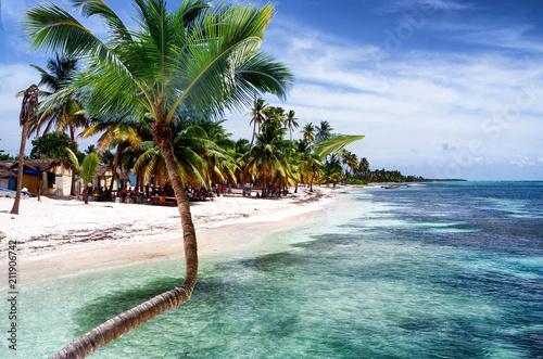 Aluminium Tropical strand Weisser Strand blaues Meer