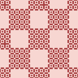 Seamless brown checkered pattern - 211908982