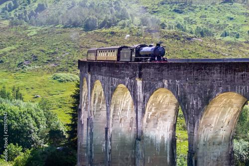 Aluminium Aubergine Glenfinnan Viaduct, Schotland