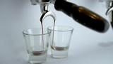 1080p Espresso Extraction into 3oz Glasses - 211934966