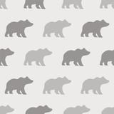 seamless bear pattern - 211949583