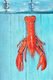 frisch gefangener Fisch am Haken - 211954170