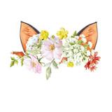 Watercolor floral composition - 211957973