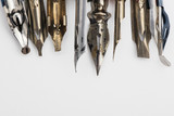 Calligraphy pen background - 211960528