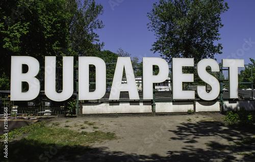 Aluminium Boedapest Zoo in Budapest
