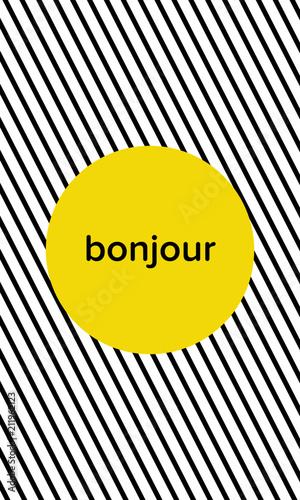koncepcja-plakatu-bonjour-hello-na-biurko-i-do-domu-ilustracji-wektorowych-elementy-typografii-na-pozbawionym-tle