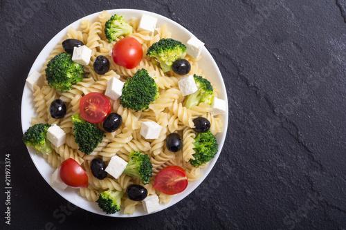 Pasta salad with ingridient - 211973374