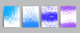 Vector banner set. Realistic water surface illustration for cards, templates, web. - 211986336