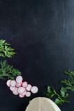 frame with fresh vegetables - 212011125