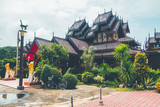 Nantaram Temple, Old Temple in thailand ,Phayao Thailand