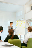Business Training. People Meeting In Office. - 212054138