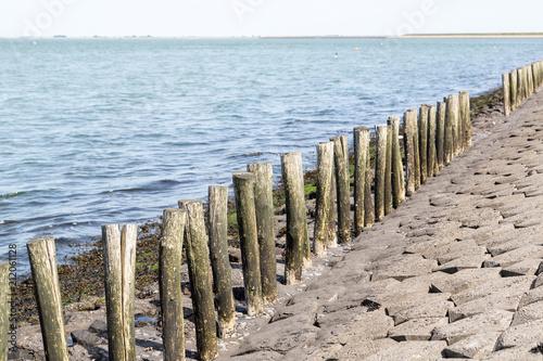 Fotobehang Noordzee Zeeland