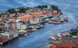 city of Bergen in Norway - 212076905