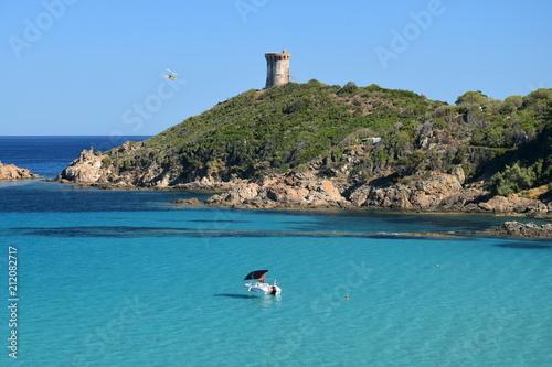 Aluminium Tropical strand Plage de Fautea, Corse