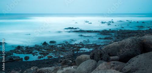 Aluminium Grijze traf. Sea shore