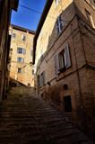 Fermo, medieval town, Italian touristic destination - 212103336