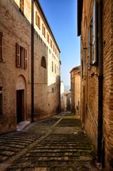 Fermo, medieval town, Italian touristic destination