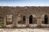 Arches of a veranda in Derawar Fort Bahawalpur Pakistan - 212106596