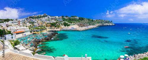 Plexiglas Freesurf Castro - beautiful coastal town in Salento, Puglia. italy. Italian summer holidays