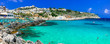 Castro - beautiful town resort in Salento, Puglia. italy.  Italian summer holidays