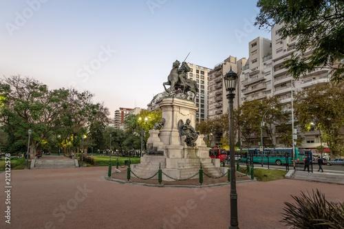 Aluminium Buenos Aires Plaza Italia in Palermo - Buenos Aires, Argentina
