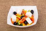 Greek salad with feta - 212147949