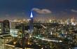 東京夜景・新宿から望む東京タワー方面 - 212166103