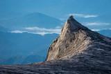 South peak of Kinabalu mountain in Boneo island, Sabah, Malaysia