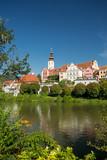 Frohnleiten. Mur river in Styria, Austria. - 212173762