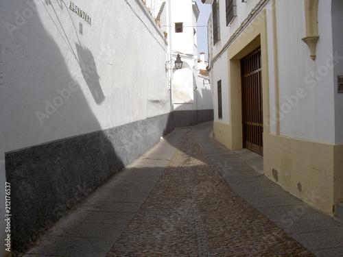 Fotobehang Smalle straatjes Cordoue, Espagne.