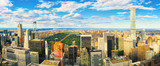 View of Manhattan from the skyscraper's observation deck. New York. - 212190149