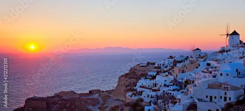 Fotobehang Santorini Santorini, Griechenland