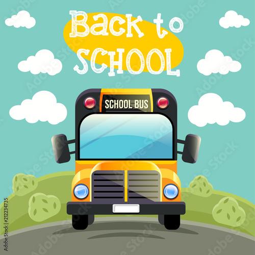 School bus - 212234735