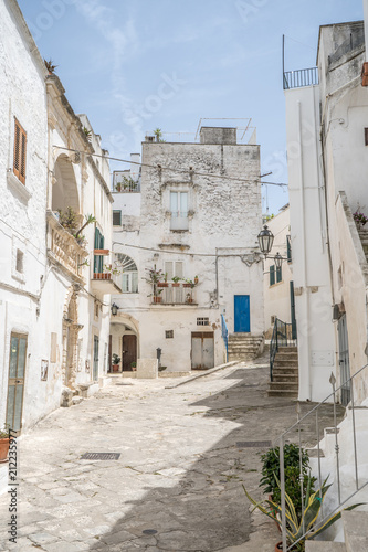Ostuni, the white city, beautiful medieval village in south Italy - 212235977