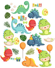 Dinosaur Birthday Theme