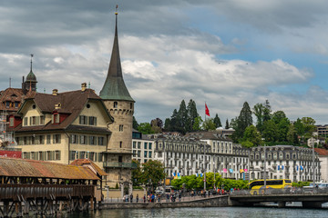 Swiss, Lucerne city view © AlehAlisevich