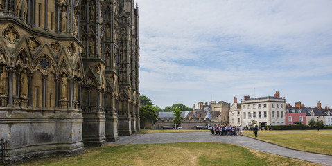 Wells Cathedral, Somerset, England, UK (Guided Tour) © Tony Martin Long