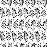 Floral pattern. Leaves texture. Stylish abstract vector plant ornamental background - 212263563