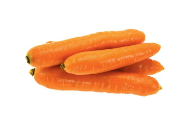 carrots on a white background  © Sanja