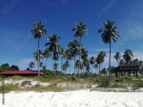 Fotobehang Tropical strand Koh Rong Sanloem island, Cambodia
