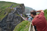 Carrick-a rede -  Tourist bridge walk - 212303383