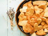 Parmesan heart cookies - 212309745