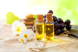 healing aromatic oil  of grape seeds