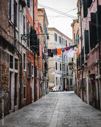Fototapeta Walking the streets of Venice, Italy