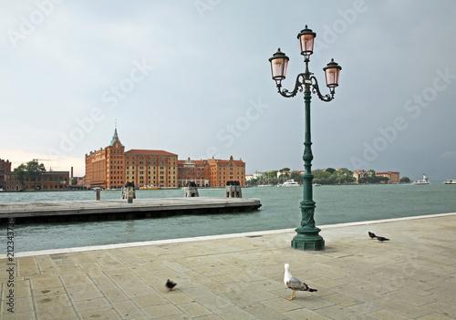 View of Venice. Giudecca island. Region Veneto. Italy - 212343738