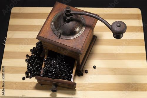 Aluminium Koffiebonen Molinillo de café