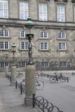 Lamppost Christiansborg; Palace; Danish; Parliament; Copenhagen - 212359329